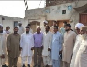 CLAAS visits Mandi Bahaudin where a Christian was accused of blasphemy