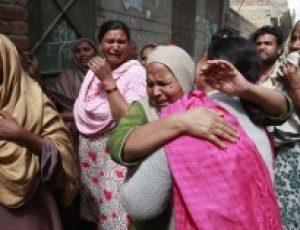 Pakistani Christian girl gang raped