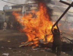 Blasphemy victim's house set on fire twice